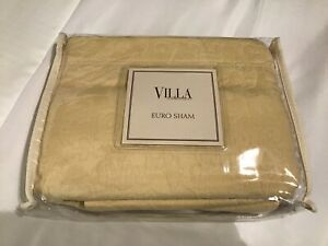 Villa Noble Excellence San Marino Euro Sham Wheat New NWT