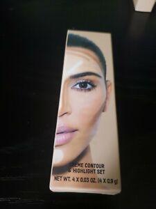 KKW Beauty Crème Contour & Highlight Set in color Medium