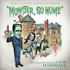 MUNSTER, GO HOME! Jack Marshall CD LA-LA LAND Score SOUNDTRACK Munsters 1966 NEW