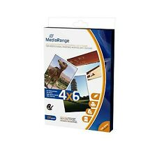 Papel fotografico Mediarange 10x15cm 50 hojas glossy 220gr Mrink104