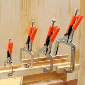 C Type Woodworking Pliers Vise Grip Locking Welding Clamp Fixed Pressure Tools