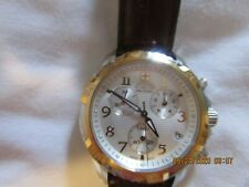 Wenger Swiss Made Gold and Silver Military Style Chronograph Watch