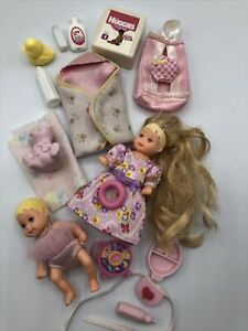 Barbie Krissy Doll Baby Layette NURSERY - Lots of Baby Toys & Accessories Pink