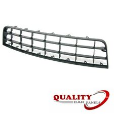 Front Centre Bumper Grille 2 Bars Vw Golf Mk5 2004-2009 Brand New High Quality