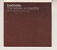 CD SINGLE PROMO FRANCO BATTIATO Tra sesso e castità MINT 2004 RARO SONY