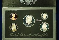 1993-s SILVER U.S. Proof Set. In a black standard size proof set container