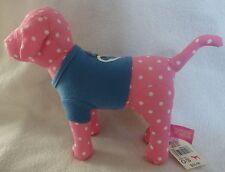 VICTORIA'S SECRET PINK  DOG POLKA DOT WITH BLUE PEACE SHIRT NWT