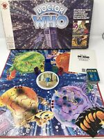"Vintage 1970s BBC TV ""DOCTOR WHO"" Family SC-FI Board Game - Complete Retro VGC"