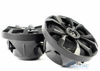 "Belva BBMS8B 8"" 2-Way 500W Black Marine Coaxial Speakers UTV/ATV Motorcycles"