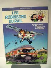 Les Robinsons du Rail - Franquin / Jidehem  EO81 PARFAIT ETAT !!