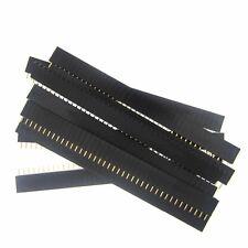 10pcs Female Pin Header Strip 40 Pin 2.54 mm Single Row Female Pin Header