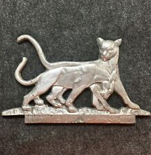 Rare Vintage Panther Wild Cat Cast Aluminum Gate Topper Mailbox Fence Salvage T