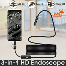 HD 10m Waterproof Endoscope USB Type-C Borescope Inspection Camera for Android🌿