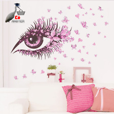 Eyes Butterfly Wall Stickers Living Bedroom Room Decor Decoration Home Decals