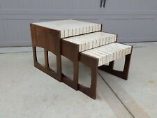 Rare Mid Century Modern 50's Harvey Probber Nesting Table Set