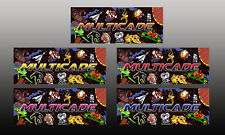 Mame Multicade Classics Marquee Backlit Header Arcade Cabinet