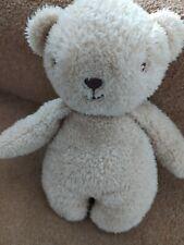 PRIMARK FLAT BEIGE TEDDY BEAR BABY COMFORTER SOFT HUG TOY