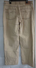 Indigo Red Men's Jeans Size 38 Beige Ricky 100% Cotton I-red Jeans Light Brown