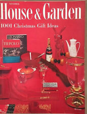 House & Garden 1955 Christmas Gifts Wendell Lovett Chocolate Cook Book Miami