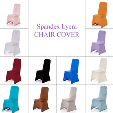 100pcs Dining Chair Cover Polyester Spandex Slip Cover Wedding Banquet Party
