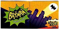2013 Mattel BATMAN TV UTILITY BELT + BATARANG 1966 Adam West BNIB! SOLD OUT!!