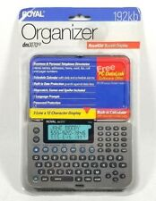 Royal Business Machines Electronic Organizer DM3070SP 192KB ROYALGLO DISPLAY NEW