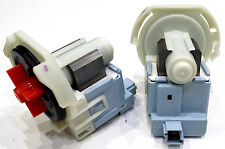 UNIVERSAL WASHING MACHINE PLASET DRAIN PUMP 34W ROUND CLIP IN UNI209B