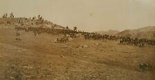 ANTIQUE MEXICAN BORDER WAR?  WESTERN CAVALRY COWBOY BUFFALO SOLDIERS? RPPC PHOTO
