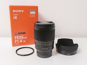 Sony FE 35mm F1.4 Zeiss Distagon T* Full-frame Lens ~Excellent Condition