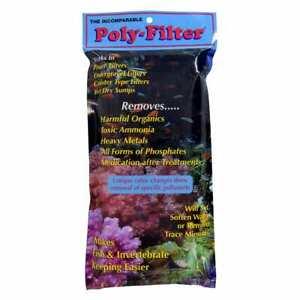 Poly-Bio Marine Poly Filter Pad Fish Bio Filtration 4x8 Bonus Food + FREE SHIP