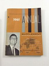 World Book Encyclopedia : 1961 Annual Supplement (Paperback, 1960)