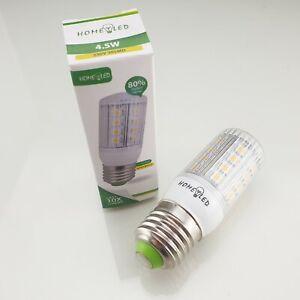E27 Warm White 4.5W 30 SMD LED BULB Lamp Ceiling Home Lighting ENERGY SAVING