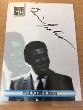 The Avengers 50th Anniversary Autograph Card Brian Jackson