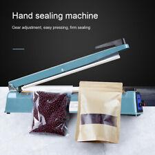 "16"" Hand Impulse Heat Sealer Plastic Bag Film Sealing Machine Metal ABS"