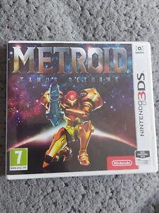 Metroid Samus Returns - Nintendo 3ds and 2ds - Mint and Comolete