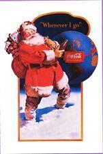 1991 COCA-COLA POST CARD HAPPY HOLIDAY CIRCA 1943