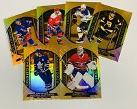 2020-21 TIM HORTONS GOLD ETCHINGS  1-15 YOU PICK TO COMPLETE