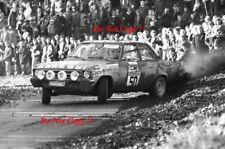 Gunther Janger & Harald Gottlieb Opel Ascona RAC Rally 1972 Photograph 1