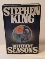 DIFFERENT SEASONS  1982  Stephen King  FIRST EDITION / 4th PRINTING  HCDJ