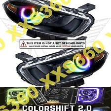 ORACLE Headlight HALO RING KIT for Dodge Dart 13-16 LED ColorSHIFT 2.0 w/ remote