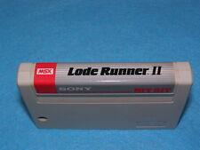 LODE RUNNER 2 II  - MSX Cartridge Only