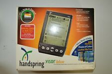 Handspring Visor Deluxe 8Mb Blue Portable Pda Organizer Palm Pilot cradle stylus