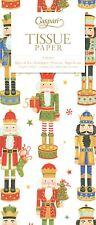 Nutcracker Parade Christmas Caspari Tissue Wrap 4 Sheets of 70 X 50 Cm Luxury