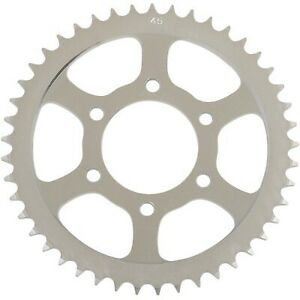 Parts Unlimited - 64511-47620 - Steel Rear Sprocket, 45T Suzuki GS 550 M Katana,