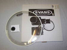 "20"" Evans Drum Head Skin Bass Drum Clear EQ1 BD20GB1"