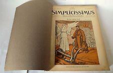 Langen/Heine,SIMPLICISSIMUS.1917,1918[settimanale satira,illustrazione,LOTTO