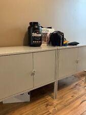 IKEA Lixhult Storage Cabinets - Light Grey - 9/10 Condition
