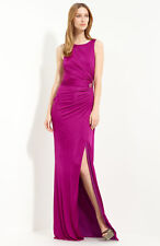NEW ROBERTO CAVALLI  Ruched Jersey COLLECTION DRESS GOWN SIZE EU 38 US 2 $1665