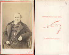 Nadar, Marie, à identifier CDV vintage albumen,  Tirage albuminé  6,5x10,5