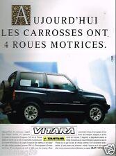 Publicité advertising 1990 Le 4X4 Vitara Santana
